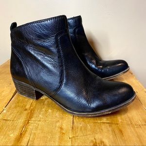 Lucky Brand Baird2 Leather Ankle Boots